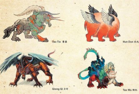 What are the Four Evil Creatures of Chinese Mythology?