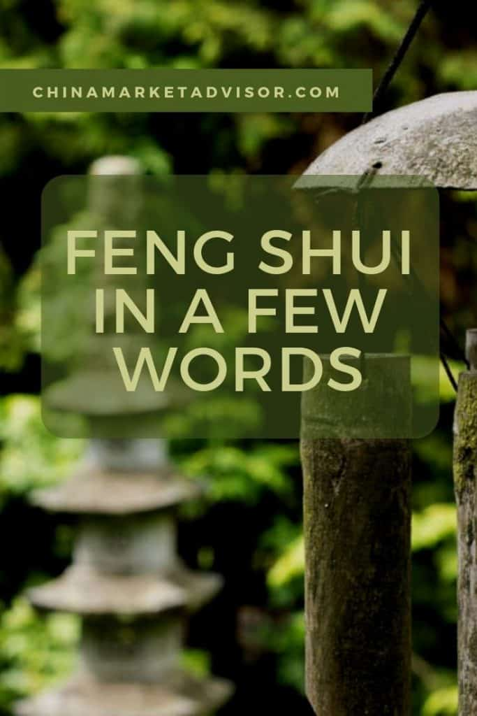 Feng shui in a few words