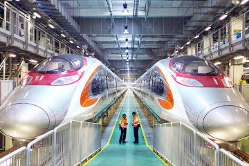 On September 23, the final phase of the Guangzhou–Shenzhen–Hong Kong express rail link (XRL) will be completed, connecting Hong Kong with mainland China's high-speed rail system. Built at a cost of US$10.8 billion, amid multiple delays and cost overruns, the Hong Kong section of the high-speed rail line cuts down…