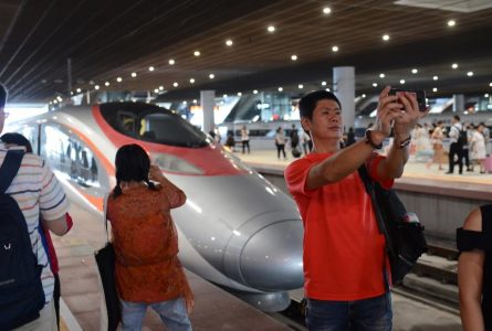 Launch of controversial HK high-speed rail link goes smoothly, but fears remain