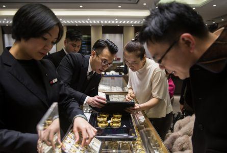 Chow Tai Fook reports operating profit up 24.7 per cent in fiscal half year