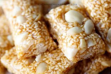 Traditional Chinese childhood favorite snack- peanut candy with the best partner white sesame seeds. It is holiday season now, I am making this as my yearly gifts. It is autumn and winter season again. We always to make some snacks for childhood in those two seasons as energy supplement among…