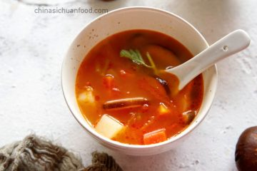 We have been eating this abc vegetable soup from childhood. Although not sure where it comes from, but this simple vegetable soup obtains high popularity in winter days. Chinese people love to cook soup with all kinds of meat. Chicken, pork bones, ribs, beef and lamb are very common winter…