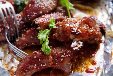 Chinese BBQ Ribs with Hoisin Sauce