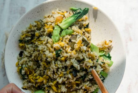 Olive Vegetable Fried Rice