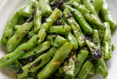 Green Beans with Chinese Olive Vegetable