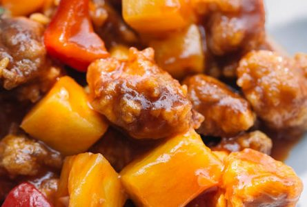 Sweet and Sour Pork with Pineapple–Gulaorou