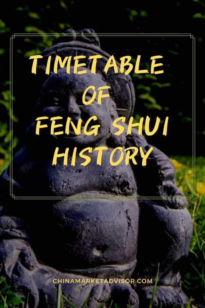 Concise Timetable of Feng Shui History
