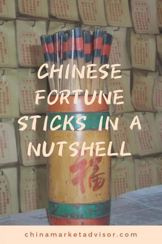 Chinese Fortune Sticks