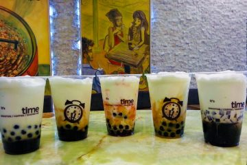 "Pearl milk tea (珍珠奶茶), sometimes referred to as bubble tea or boba, is a Taiwanese drink most popularly known as a milk tea with tapioca-type balls. The balls are also known as pearls, so the Chinese translation of 珍珠奶茶 is literally pearl (珍珠) milk (奶) tea (茶). ""Boba"" itself refers…"