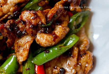 Pork Stir Fry with Black Bean Sauce