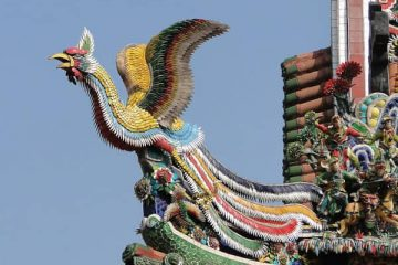 In China, the Phoenix is also called Fenghuang, and similar to the western counterpart, the mythological creature is an immortal bird that also represents the element of fire. The Chinese Phoenix is believed to symbolize harmony, and in ancient China, the appearance of the Fenghuang is believed as a sign when a new emperor is going to rise to lead the country.