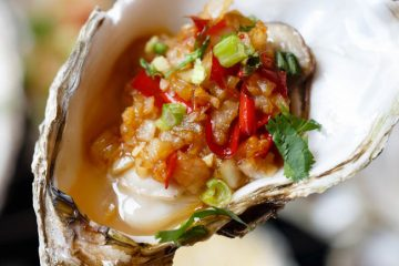 If you ever visit a Chinese barbecue street pedlar in any Southern province with coast lines, you will be firstly recommend trying our grilled oyster, sometimes with garlic sauce or simply with salt and light soy sauce. The former version is liked by the adults while the later one is…