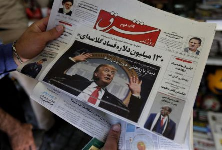 Trump re-imposes Iran sanctions 'to change, not topple Tehran'