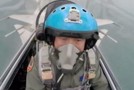 China 'likely' training pilots to target US, increasing military pressure on Taiwan, US report says