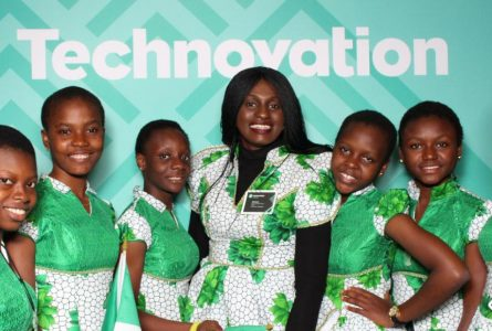 Nigerian girls win Silicon Valley contest for app that spots fake drugs