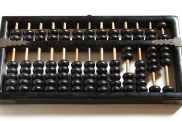 The existence of Chinese abacus can be dated back from the 14 century A.D. And since Chinese are known to relate their ways of like to its environment the attributes such as the top and bottom are considered heaven and earth respectively. The counting of the beads or the computation is done by moving each bead in either up and down manner towards the beam.
