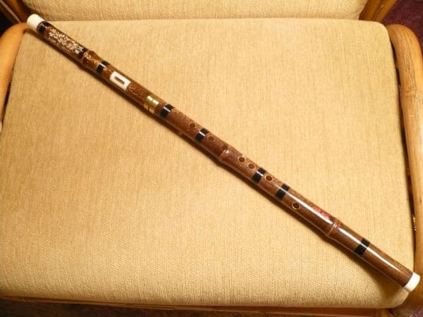 Bawu. Chinese Wind Instrument