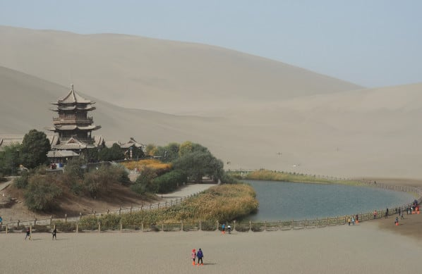 Dunhuang Crescent Moon Spring