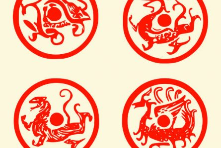 What are the Four Sacred Animals of Chinese Mythology?