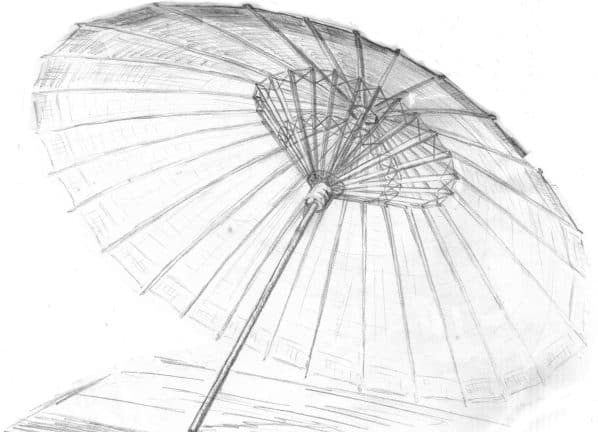 Construction of Chinese Traditional Umbrellas