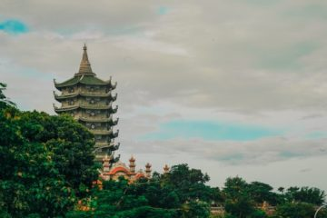 The Chinese Pagoda is considered one of the most unique and important buildings in ancient Chinese architecture with its distinct style of construction. Pagoda structures can be made from various different materials: stone, brick, and wood, among others.