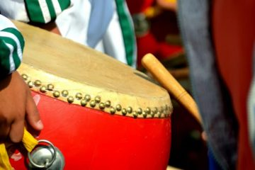Throughout Chinese folk music and opera, the percussion instruments can be used to highlight the music's rhythm and also to assist tonal changes. They can also be grouped together in a percussion ensemble.