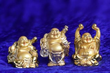 In Feng Shui, the Laughing Buddha is among one of the most popular and commonly used charms, often used in many different Feng Shui applications to bring prosperity, good fortune, happiness, good health, and monetary success.