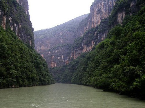 The Three Gorges of Yangtze River