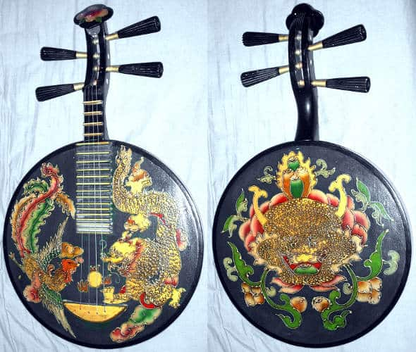 Yueqin- Chinese String Instrument