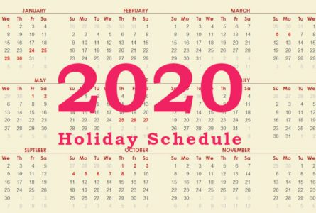 China's Official Public Holiday Schedule for 2020