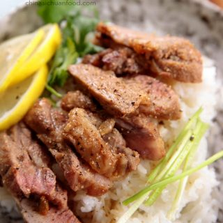 Lemon Pork Shoulder|chinasichuanfood.com