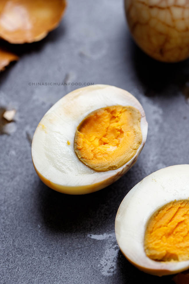Chinese tea eggs |chinasichuanfood.com