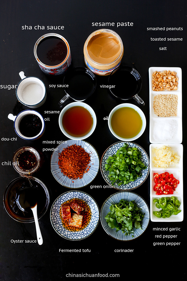 hot-pot-dipping-sauces-ingredients|chinasichuanfood.com