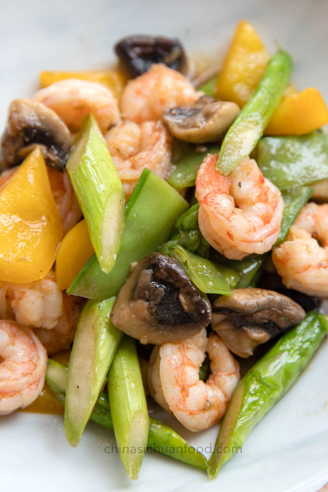 Shrimp and Vegetable Stir Fry 2