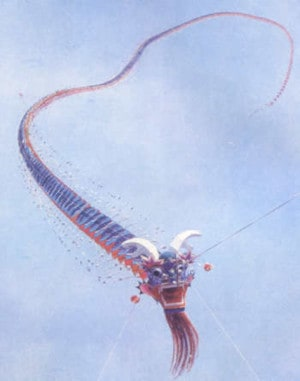 Centipede type - Dragon kite